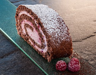 HIMBEER-ROULADE